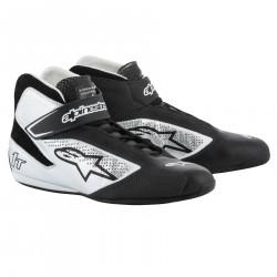 Cipő ALPINESTARS FIA Tech 1 T - Fekete / Ezüst
