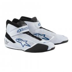 Cipő ALPINESTARS FIA Tech 1 T - Ezüst / Fehér