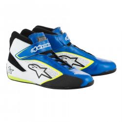 Cipő ALPINESTARS FIA Tech 1 T - Kék / Fehér / Sárga