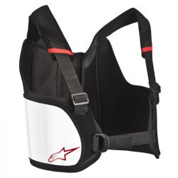 Alpinestars bordavédő Bionic Rib - Fekete / Fehér