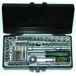 """FORCE 1/4"""" dugókulcs készlet (57 db-os)"""