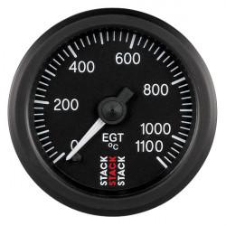 STACK óra kipufogógáz hőmérséklet 0-1100 °C (mechanikus)