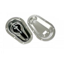 Alumínium tányérok motorházleszorítók sülyesztészére