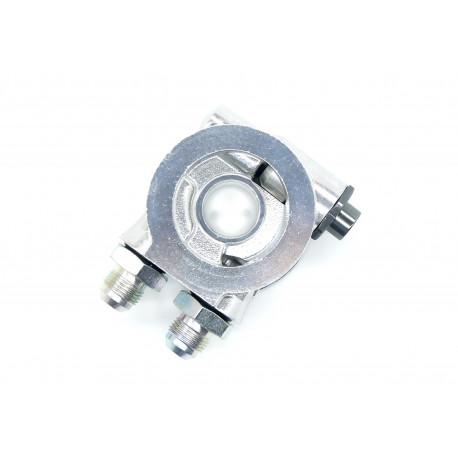 Olajhűtő adapterok Olajszűrő adaptér bemenet/kimenetAN10 termosztatal | race-shop.hu