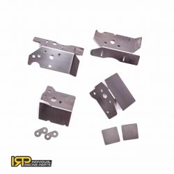Chassis reinforcement plates for BMW E46 (IRP KIT)