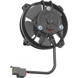 Univerzális elektromos ventillátor SPAL 130mm - szívó, 24V