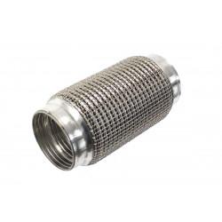 PRO Kipufogó flexibilis cső 255x63mm,rozsdamentes acél
