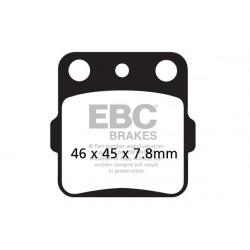 EBC Első Fékbetét Organic 805