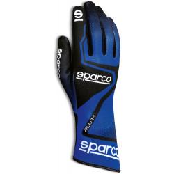 Track kesztyű Sparco Rush (belső varrás) kék