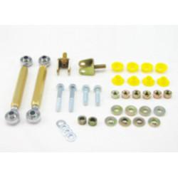 Whiteline Sway bar - link kit 50mm lift adj spherical rod M/SPORT, első tengely