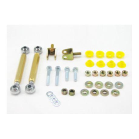 Whiteline Whiteline Sway bar - link kit 50mm lift adj spherical rod M/SPORT, predná náprava | race-shop.hu