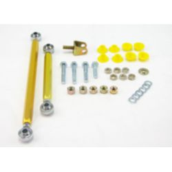 Whiteline Sway bar - link kit 100mm lift adj spherical rod M/SPORT, első tengely