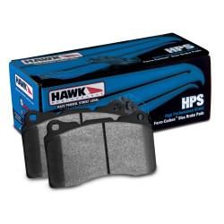 Fékbetétek Hawk HB110F.654, Street performance, min-max 37°C-370°C