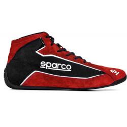 Sparco SLALOM+ FIA Homológ cipő piros-fekete