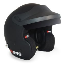 Bukósisak RRS JET PROTECT PREMIUM BLACK FIA 8859-2015 HANS