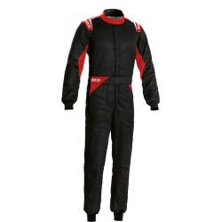FIA Overál Sparco Sprint fekete/fekete