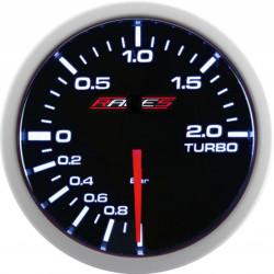 RACES Clubman mérőóra - Elektromos turbónyomás 2BAR