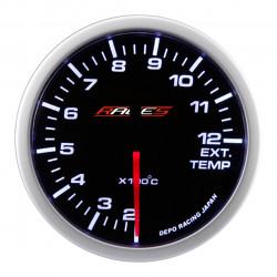 RACES Clubman mérőóra - A kipufogógáz hőmérséklete