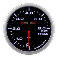 RACES Clubman mérőóra -Üzemanyag nyomás