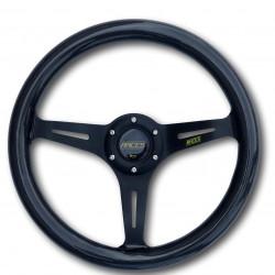 Steering wheel RACES Carbon, 350mm, flat