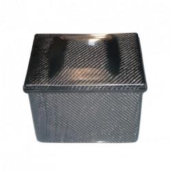 Akumulator box 230x175x180mm - Carbon