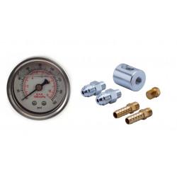 RACES adapter manométér vagy üzemanyag nyomásszabalyzó jeladó 8/8mm