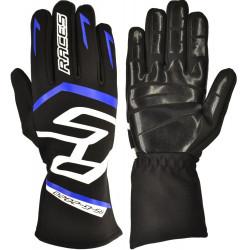 Kesztyű RACES Premium EVO II Silicone Blue