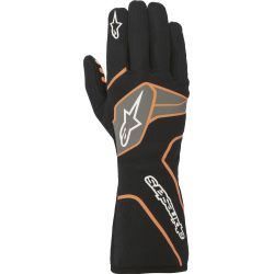 Alpinestars Tech-1 Race V2 FIA homológ kesztyű - fekete/narancs
