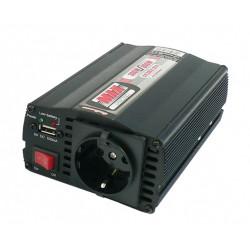 Gépjárműfeszültség átalakító 12V-tól 230V-ig