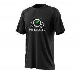 TOPSPEED fekete póló