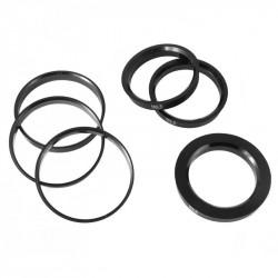 Szet 4db központosító (tehermentesítő) gyűrűk72.6-71.6mm Plastic