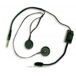 Terratrip headset czentralhoz professional nyitott sisakba