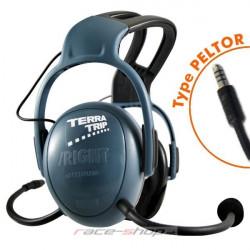 Terratrip áthajtó fülhalgató professional PLUS czentál-hoz