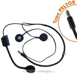 Terratrip headset czentralhoz professional PLUS nyitott sisakba
