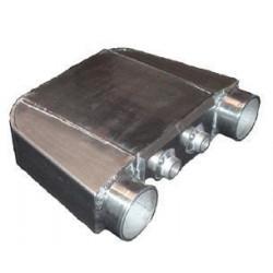 Vizzel hűtott intercooler univerzális 230 x 260 x 115mm