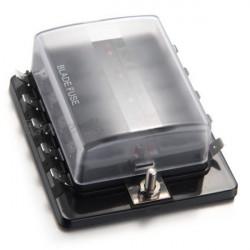 Bisztosíték doboz box) láb bisztosítékokhoz LED