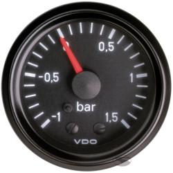 VDO óra turbonyomás mechanikus (-1-1,5 BAR) - cockpit vision széria