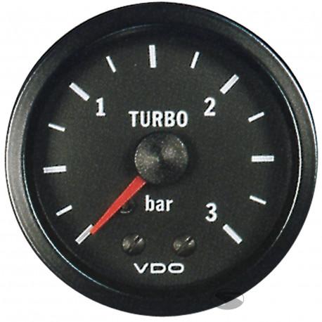 VDO Cocpit Vision Orák VDO óra turbónyomás mechanikus (0-3 BAR) - cockpit vision széria   race-shop.hu