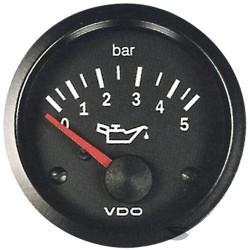 VDO óra olajnyomás (0-5 BAR) - cockpit vision széria