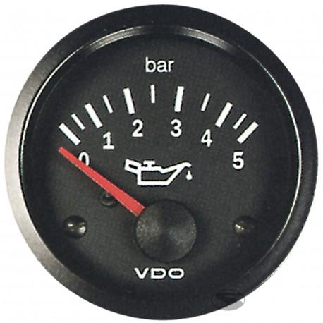 VDO Cocpit Vision Orák VDO óra olajnyomás (0-5 BAR) - cockpit vision széria | race-shop.hu