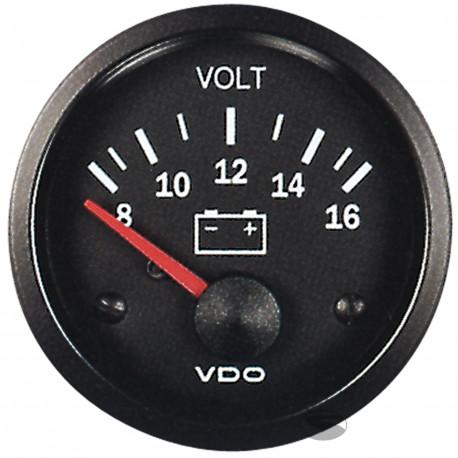 VDO Cocpit Vision Orák VDO óra töltés ( voltmérő ) - cockpit vision széria | race-shop.hu
