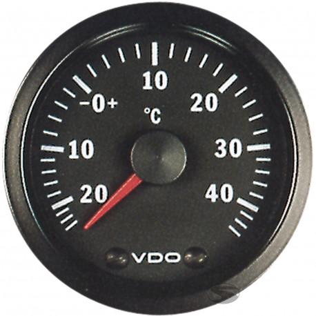 VDO Cocpit Vision Orák VDO óra külső hőmérséklet kijelző - cockpit vision széria | race-shop.hu