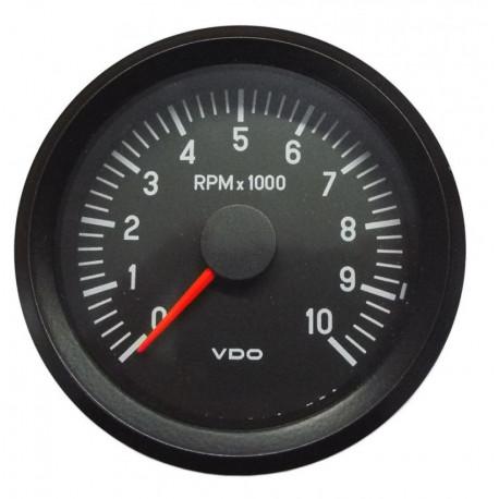 VDO Cocpit Vision Orák VDO óra fordulatszámmérő 80mm, 10 000RPM - cockpit vision széria | race-shop.hu