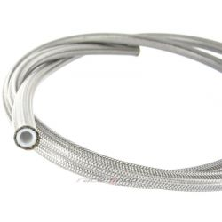 Fémhálós nagynyomású teflon (PTFE) cső AN3 (3,17 mm )