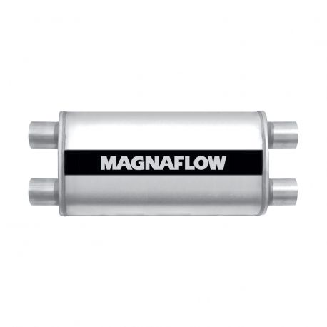 2x bemenet / 2x kimenet MAGNAFLOW rozsdamentes acél kipufogódob 12599 | race-shop.hu