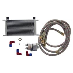 9soros olaj hűtő 330x55x50 AN8