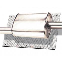 Tepelný štít k tlmiču výfuku alebo katalyzátoru Thermotec 61x101,6cm
