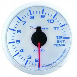 DEPO óra Kipufogógáz-hőmérséklet - Super white széria