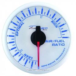 DEPO óra Üzemanyag / levegő arány - Super white széria