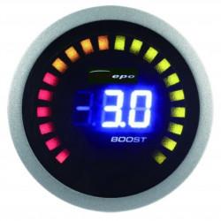 DEPO óra 2in1 Kipufogógáz-hőmérséklet és Turbonyomás- Digital combo széria